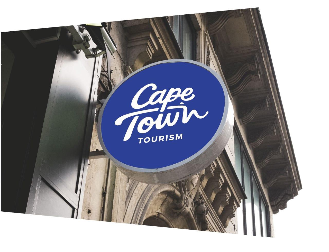 Cape Town Tourism brand Case study signage