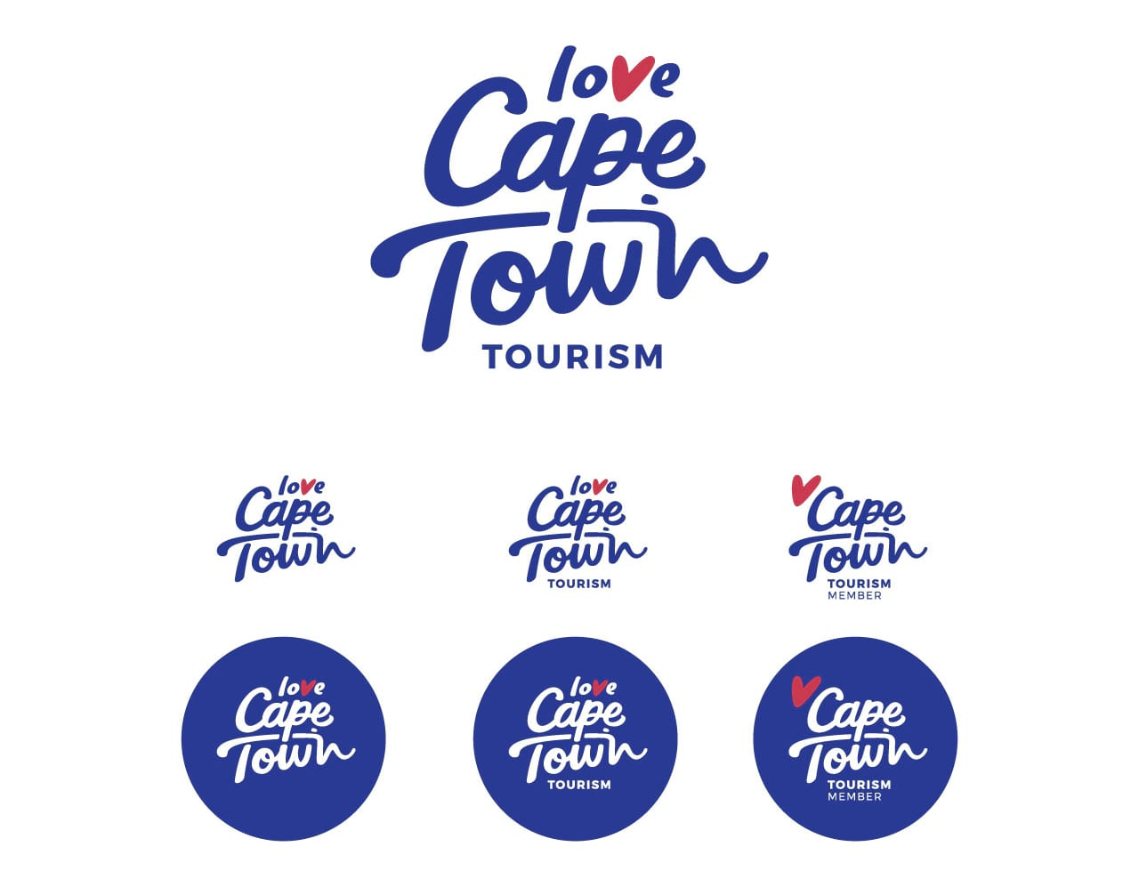 Cape Town Tourism brand Case study logos