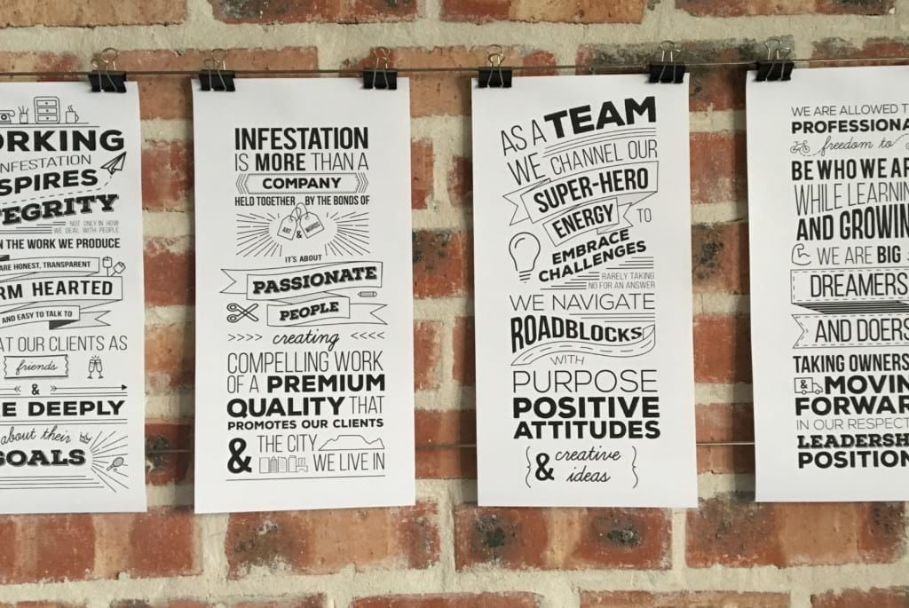 Infestation design agency culture manifesto